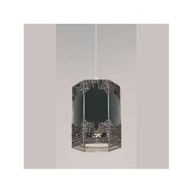 Endon lighting mirror and pewter ceiling light pendant shade mirror and pewter ceiling light pendant shade aloadofball Image collections