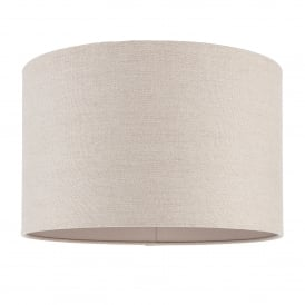 Obi 16 Inch Natural Linen Cylindrical Shade