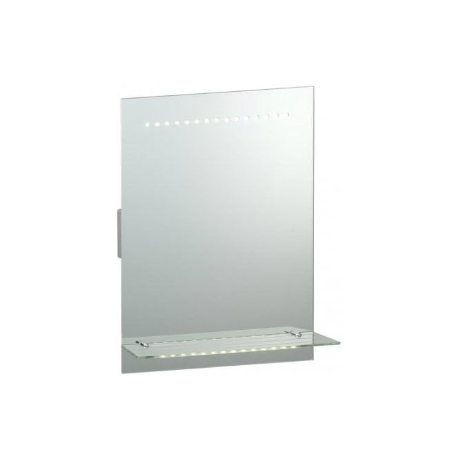 Surprising Endon Lighting Omega Led Illuminated Bathroom Mirror With Glass Shelf And Motion Sensor Download Free Architecture Designs Embacsunscenecom