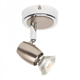 Palermo Single Light Ceiling Or Wall Spotlight Fitting In Polished Chrome Finish