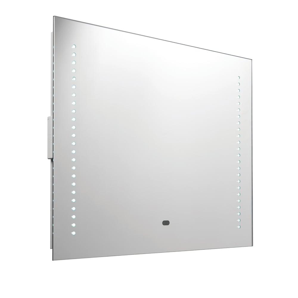 Endon Lighting Rift 2 Light RGB LED Illuminated Bathroom Mirror With ...