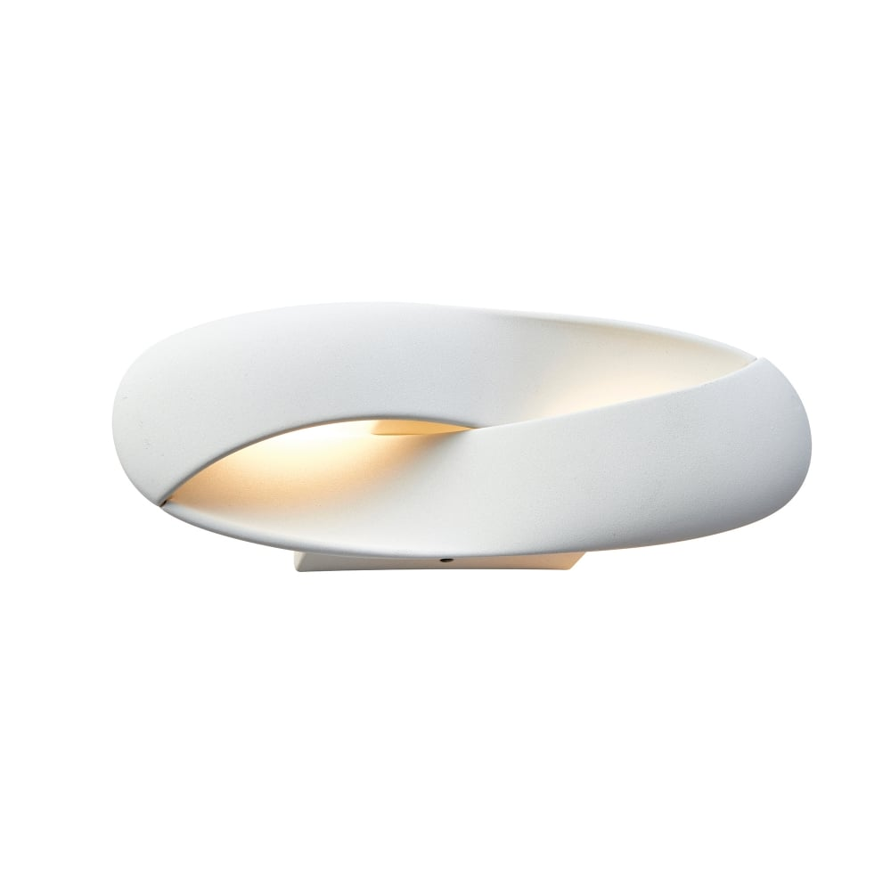 Endon Lighting Soft LED Wall Fitting in White Finish - Lighting Type from Castlegate Lights UK