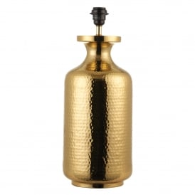 Suri Single Light Table Lamp Base Only in Brass Finish