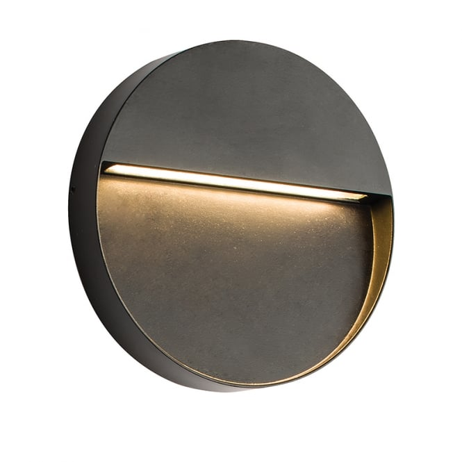 Endon Lighting Tuscana LED Outdoor Wall Light in Black Finish