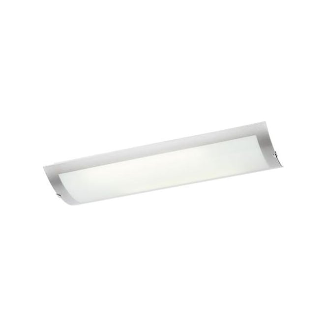 Endon lighting enluce 2 light low energy large flush ceiling enluce 2 light low energy large flush ceiling fitting with frosted glass diffuser and polished chrome mozeypictures Gallery