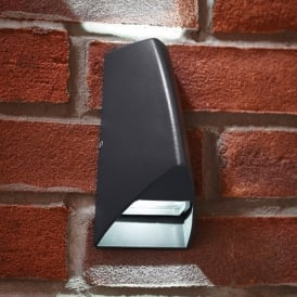 Enluce LED Outdoor Wall Fitting In Aluminium Finish With Up And Down Illumination