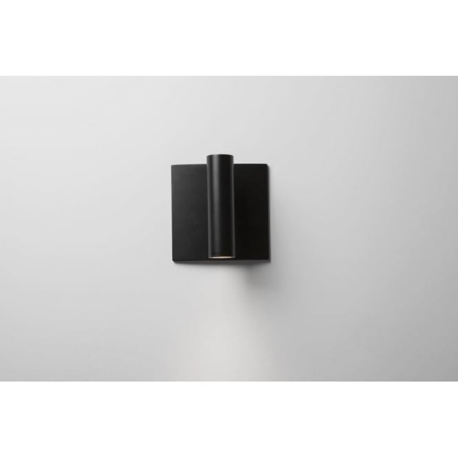 Astro Lighting Enna Single Light LED Switched Wall Fitting In Black Finish