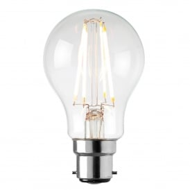 Filament Style 6.2w GLS LED Bulb with B22 Type Socket