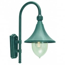 Firenze Outdoor Wall Fitting in Verdigris Finish