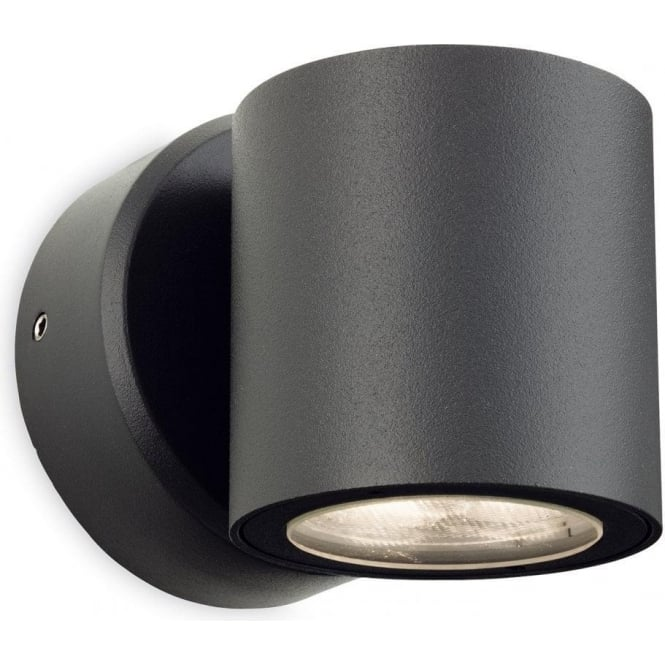 Firstlight Alaska Single Light LED Outdoor Wall Fitting with a Graphite Grey Finish