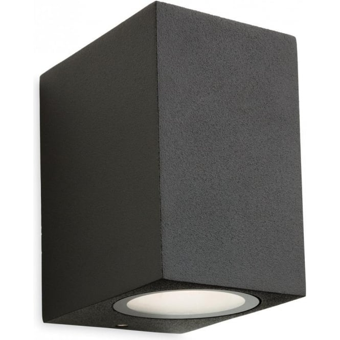 Firstlight Capital Single Light LED Outdoor Wall Fixture in a Graphite Finish