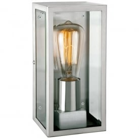 Dallas Single Outdoor Light in Stainless Steel Finish