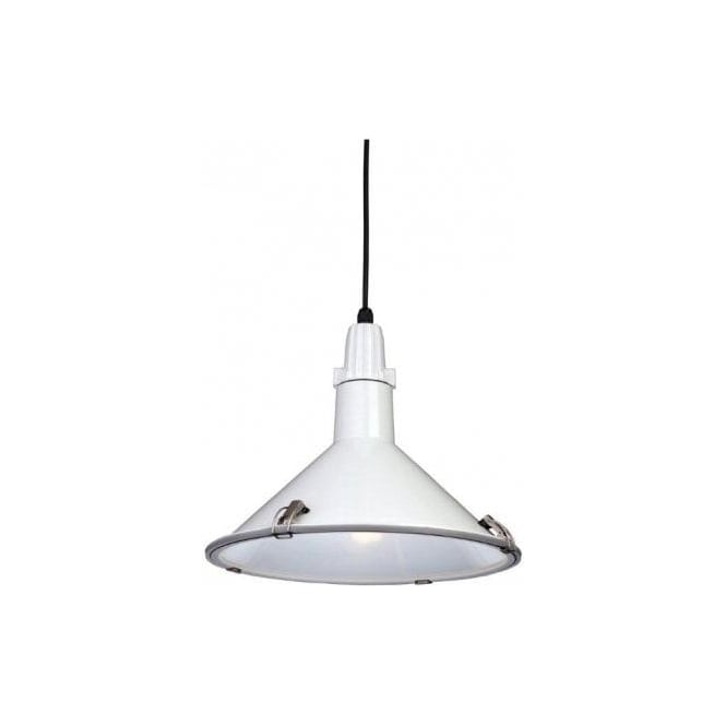1c74e61ba141 Firstlight Eden Low Energy Single Light Ceiling Pendant in a White Finish  Product Code: 8313WH