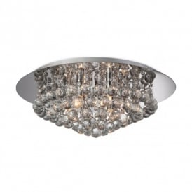 Liberty 6 Light Crystal Ceiling Fitting