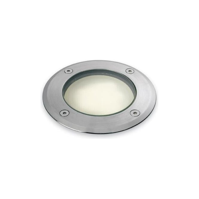 Firstlight Low Energy Walkover/Driveover Light in Stainless Steel Finish  with Glass Diffuser (Outdoor)