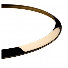 Polished Brass Trim For Ascot Semi Flush Ceiling Fitting