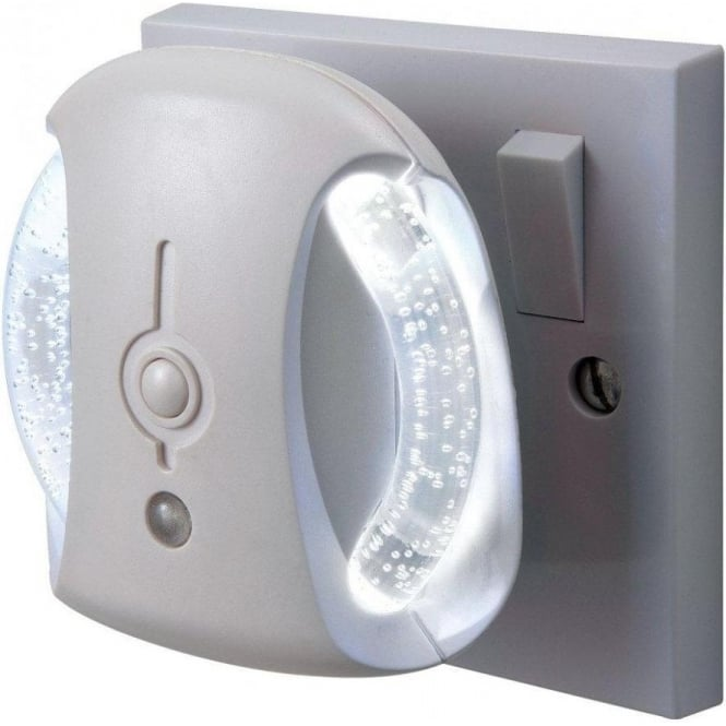 2x Led Night Light Automatic Dusk To Dawn Sensor For: Firstlight RGB LED Plug In Night Light With Dawn Till Dusk