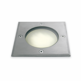 Single Light Low Energy Square Stainless Steel Driveover/Walkover Light