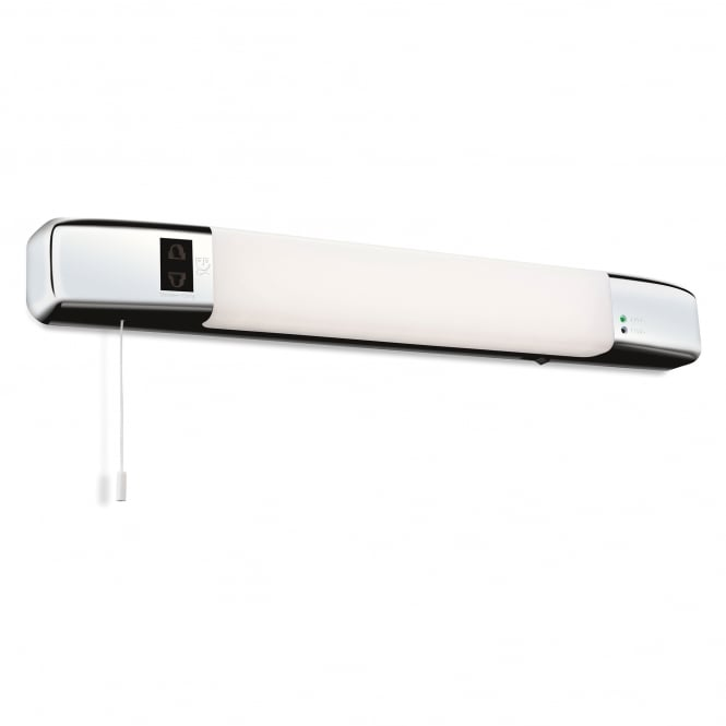 Led Bathroom Wall Lights Uk: Firstlight Slimline LED Bathroom Wall Light In Polished