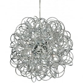 Stella 6 Light Ceiling Pendant in Chrome Finish