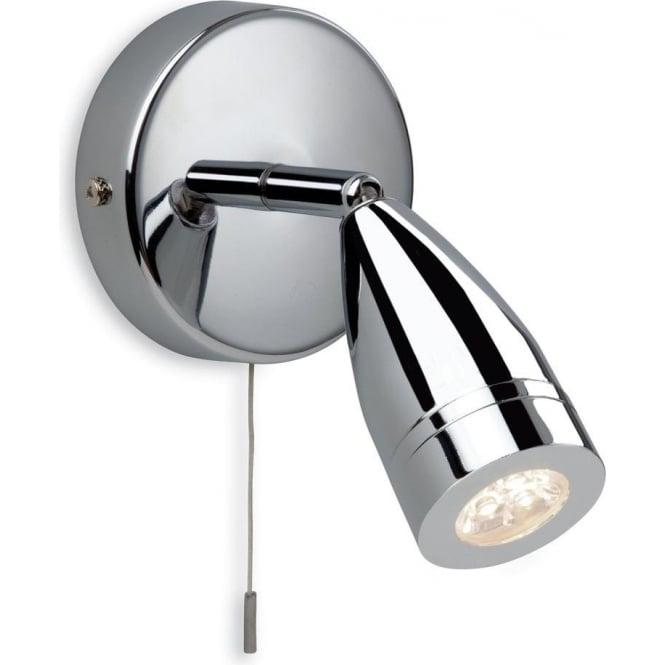 Led Bathroom Spotlights Uk firstlight storm led switched single light bathroom spotlight in