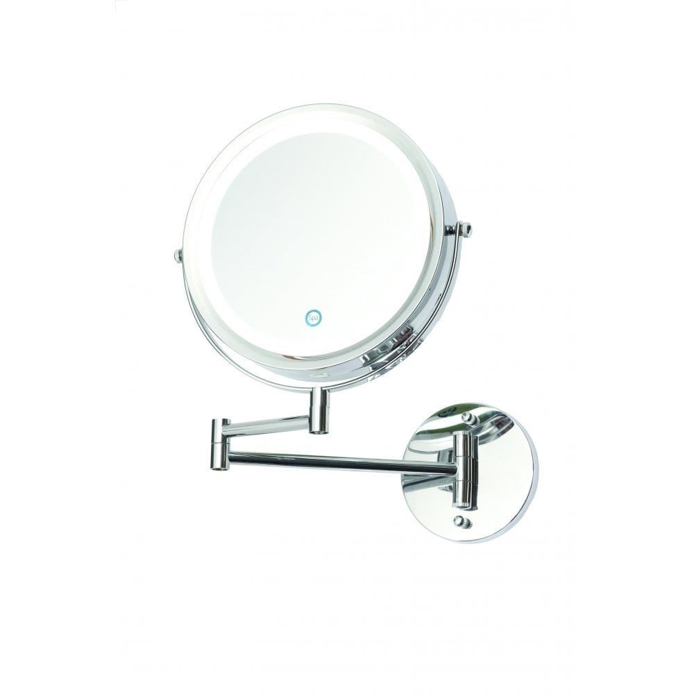 Battery Powered Bathroom Mirror Light: Forum Lighting Asti LED Touch Operated Battery Powered