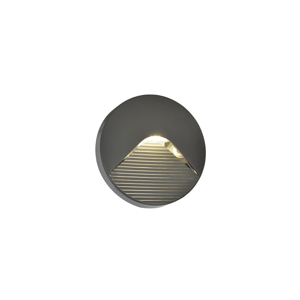 Forum lighting breez led round surface mounted outdoor brick wall breez led round surface mounted outdoor brick wall light in anthracite finish aloadofball Image collections
