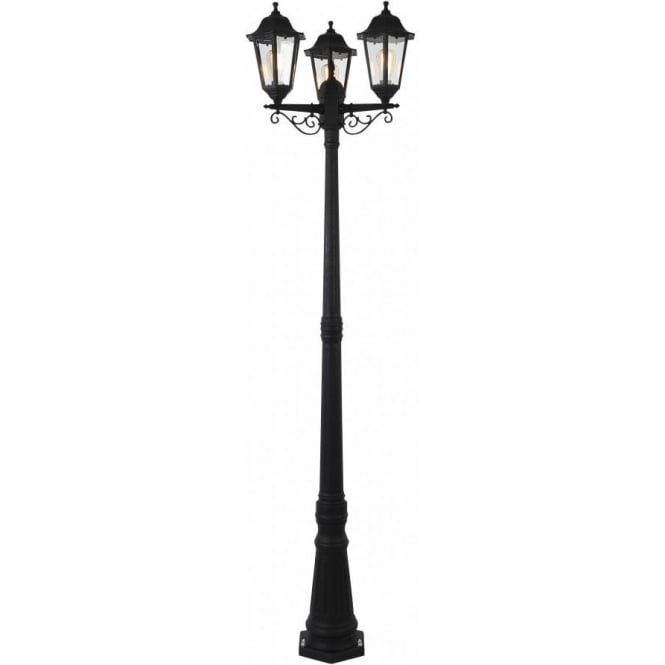 Forum lighting coast collection bianca 3 light outdoor lamp post in coast collection bianca 3 light outdoor lamp post in black mozeypictures