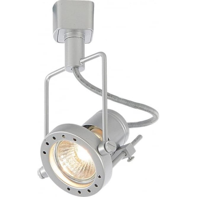 Culina ribalta halogen track spotlight fitting in silver