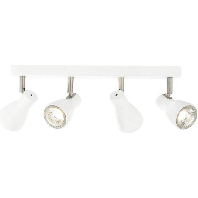 Forum lighting curtis 4 light bar ceiling spotlight in white finish curtis 4 light bar ceiling spotlight in white finish aloadofball Gallery