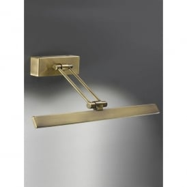 2 Light LED Bronze Picture Light With Adjustable Arm