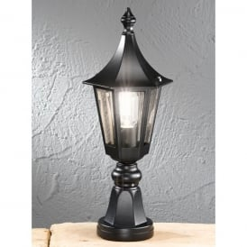 Boulevard Single Light Black Exterior Post Lantern