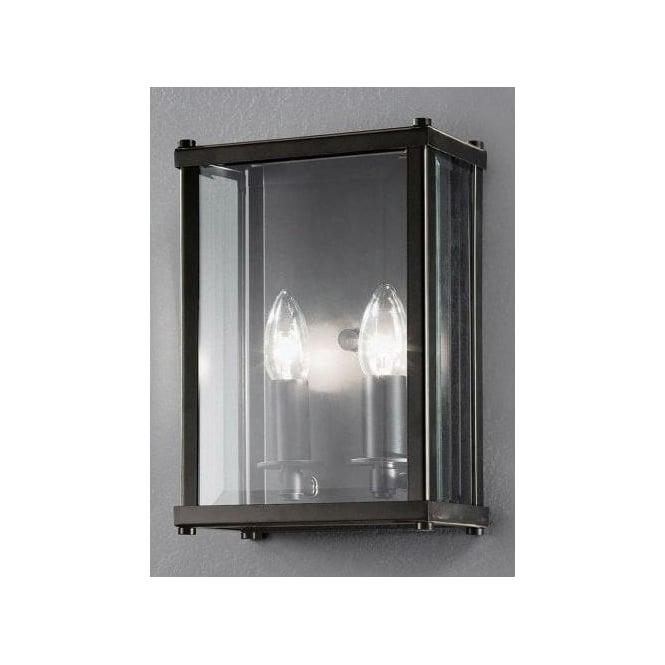 Indoor Wall Lantern Lights : Franklite Emberton 2 Light Rectangular Indoor Wall Lantern in Antique Bronze - Lighting Type ...