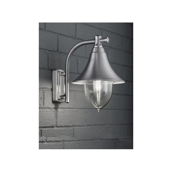 Buy Franklite Ext6589 Lorenz Outdoor Wall Light Ip44 Rated Brushed Marine Gra
