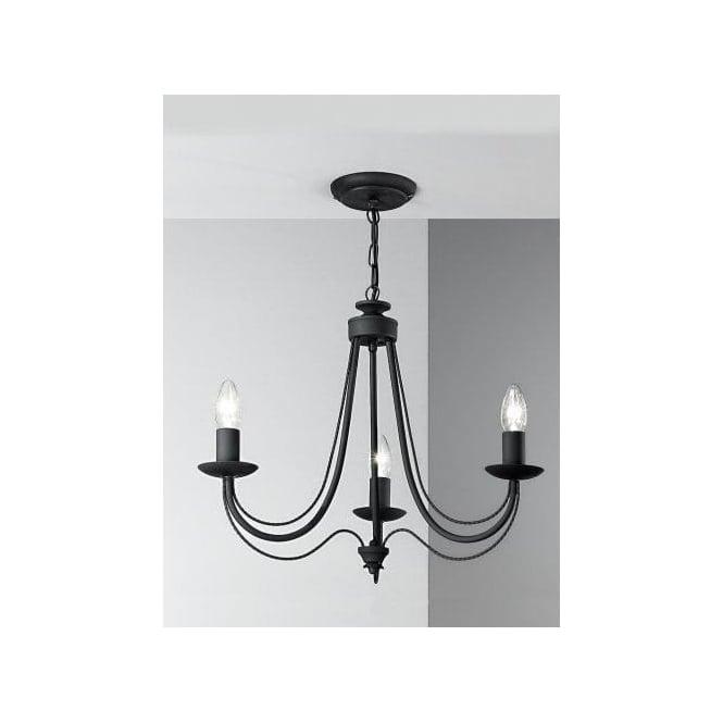 Franklite philly 3 light dual mount chandelier with black italian philly 3 light dual mount chandelier with black italian ironwork aloadofball Images
