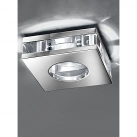 Recessed Low Voltage Polished Chrome Bathroom Downlight