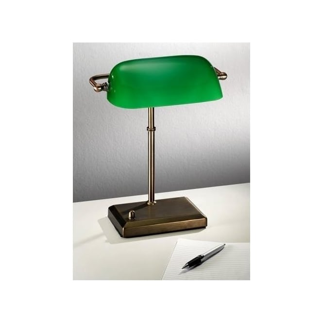 Find every shop in the world selling bankers lamp at pricepi tl877 franklite single light bankers lamp aloadofball Images