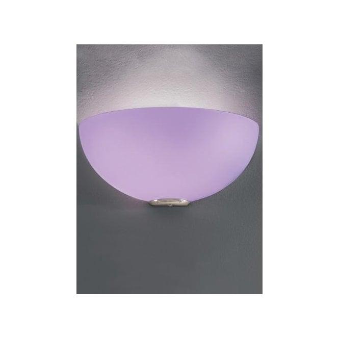 Franklite vetross single light wall sconce with a white and lilac vetross single light wall sconce with a white and lilac opaque glass shade mozeypictures Images