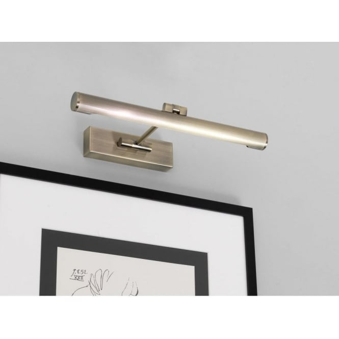Astro Lighting Goya 365 Low Energy Picture Light In Antique Brass Finish