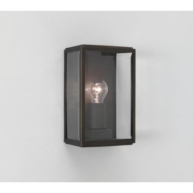 Astro Lighting Homefield Single Light Outdoor Wall Fitting in Bronze Finish