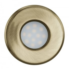 Igoa Single Light LED Bathroom Recessed Ceiling Fitting In Bronze Finish