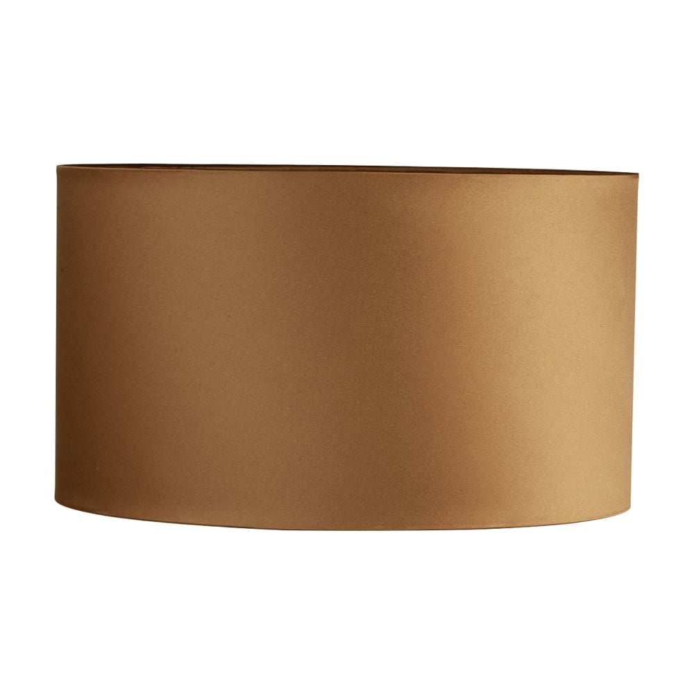 Illuminati 12 inch drum shade for table lamp in bronze for 12 inch table lamps