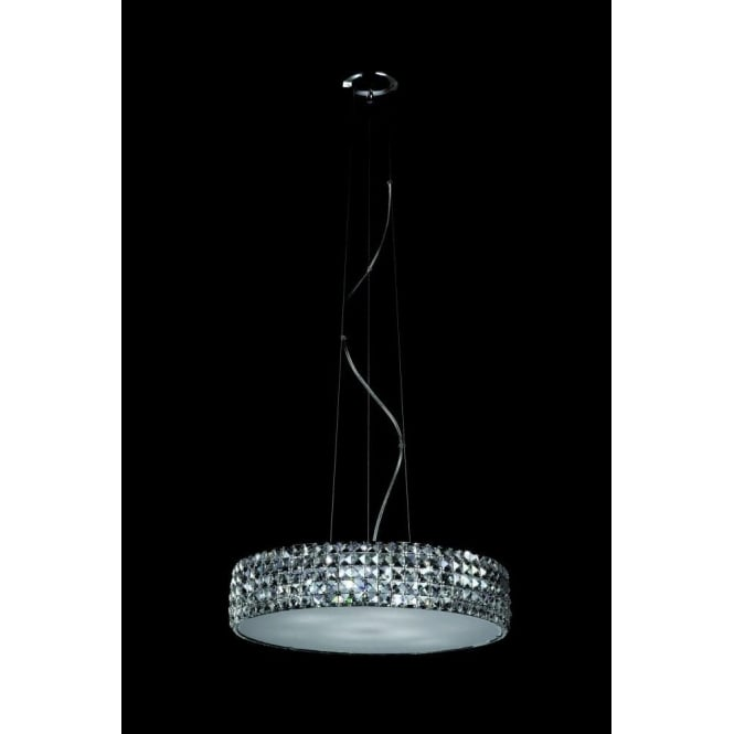 Impex lighting agora large 9 light ceiling pendant in for Agora decoration
