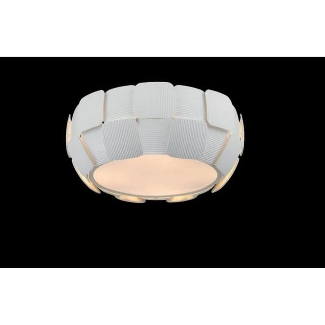 Impex Lighting Brigitte 4 Light Low Energy Flush Ceiling