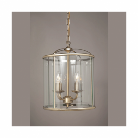 LG77134/AB Orly Antique Brass Ceiling Lantern