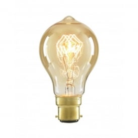 Inlight A60 Vintage Filament Lamp 40w BC Tinted (Dimmable)