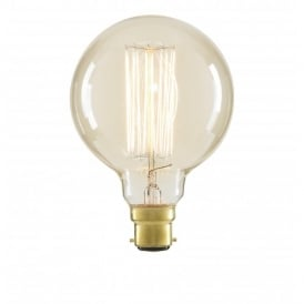 Inlight G95 Vintage Filament Lamp 40w BC Clear (Dimmable)
