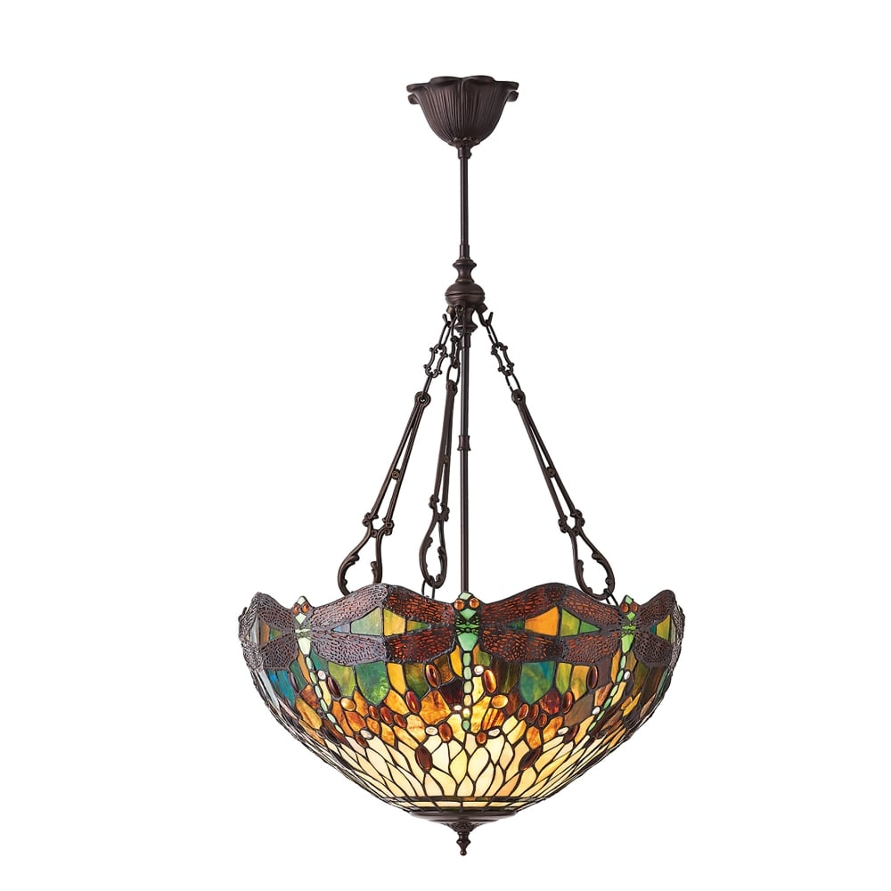 freedom shades medium products light style stained tiffany img glass shade pendant ceiling