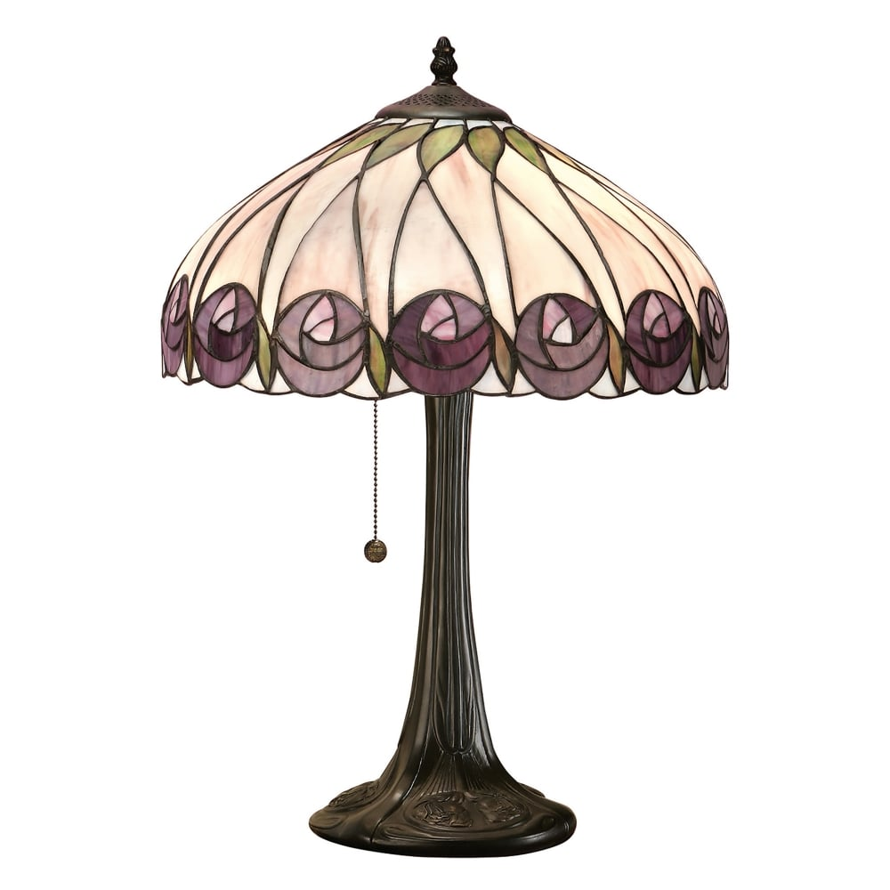 Interiors 1900 Hutchinson Tiffany Table Lamp Lighting: types of table lamps
