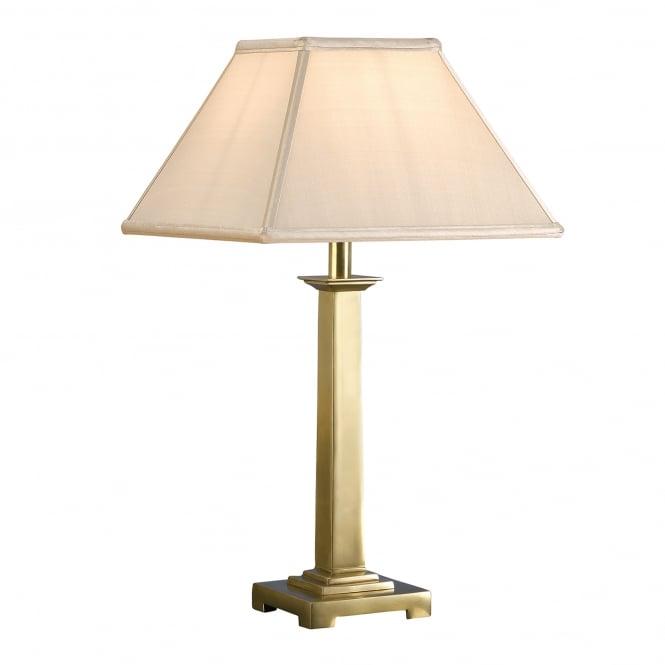 interiors 1900 pelham single light solid brass table lamp base only castlegate lights. Black Bedroom Furniture Sets. Home Design Ideas